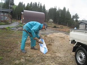 土のう作り
