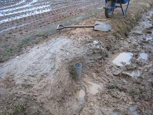 排水口完成