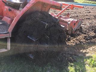 かご車輪泥付き